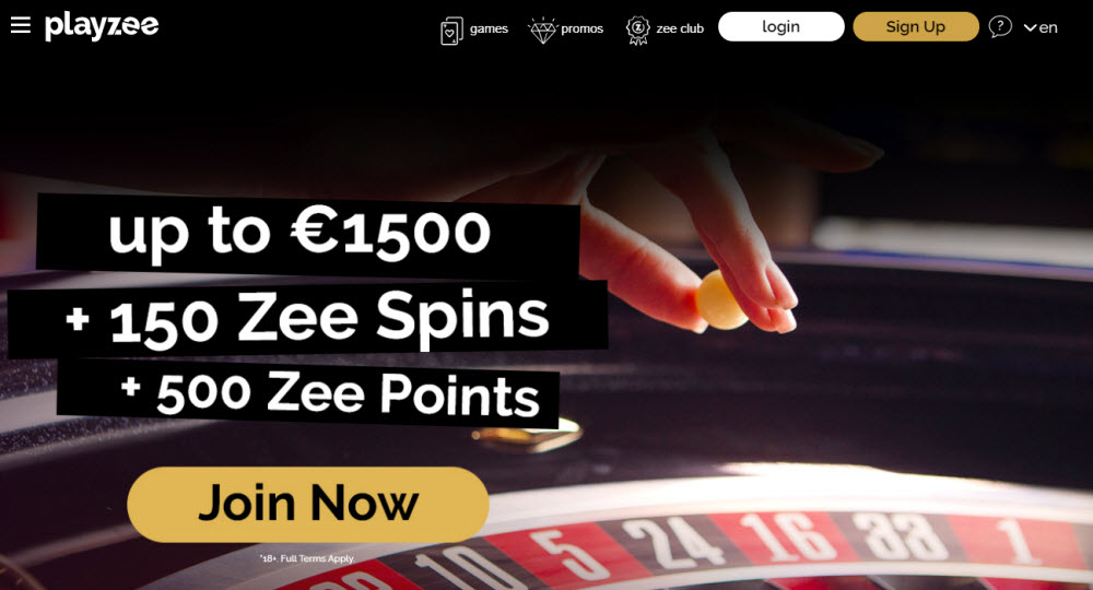 Playzee Casino Live Roulette
